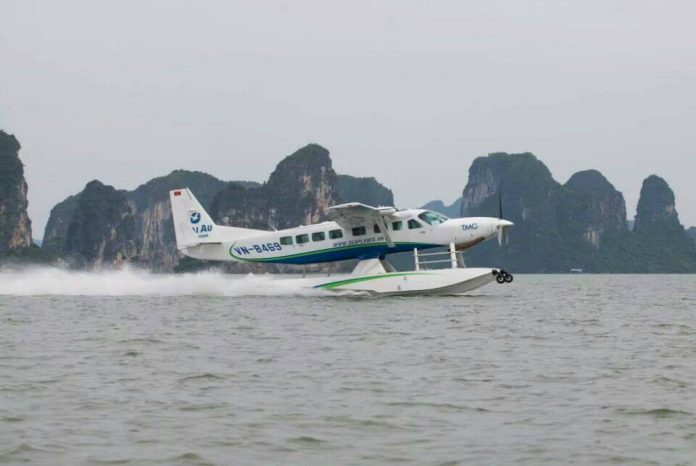 Ha Long Bay by seaplane hai au aviation