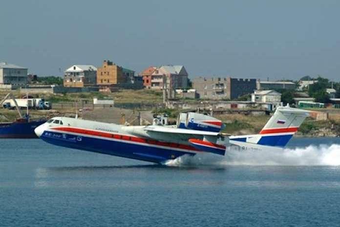 Tàu bay (thủy phi cơ) Be-200 của Nga