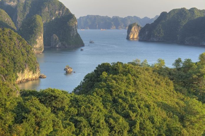 Bai Tho Mountain adventures experiences in Halong Bay