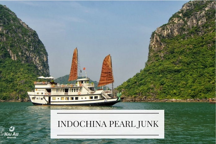 INDOCHINA PEARL JUNK halong bay day cruises