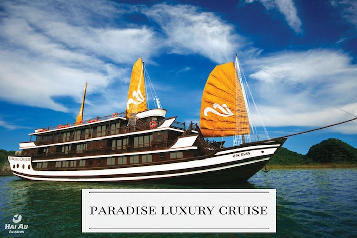 Paradise Cruise recommended Halong Bay cruises
