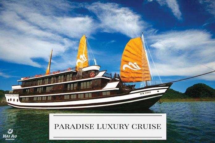 Paradise Cruise recommended Halong Bay cruises