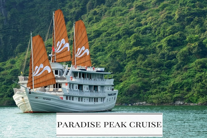 Paradise Peak Cruise recommended Halong Bay cruises