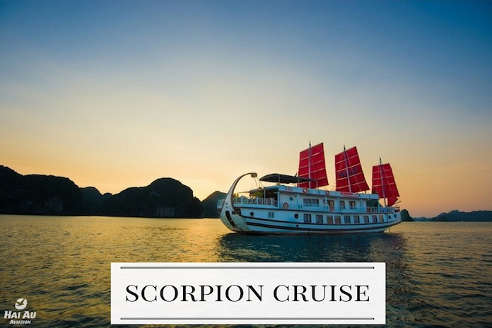 Scorpion Cruise recommended Halong Bay cruises