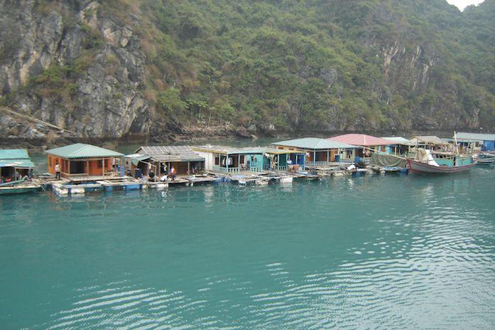 làng chài Hạ Long