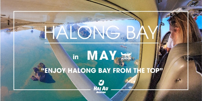 Enjoy Halong bay from different angle - seaplane flight
