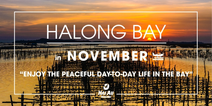 Let's experience Halong bay like a local