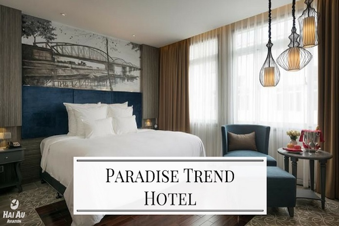 Part of the Paradise Group, the Paradise Trend Hotel is the group's second boutique hotel in the area.