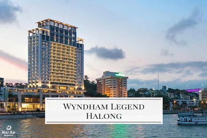 The Wyndham Legend là khách sạn 5 sao theo tiêu chuẩn quốc tế đầu tiên tại Hạ Long.