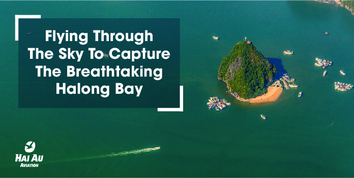 Flying Through The Sky To Capture The Breathtaking Halong Bay
