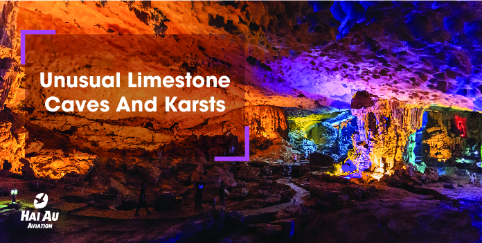 Unusual Limestone Caves And Karsts