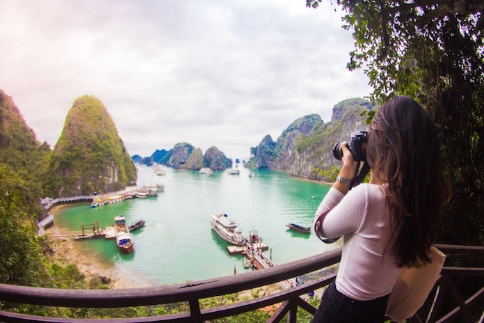 Place to photograph in Halong Halong Bay to photograph