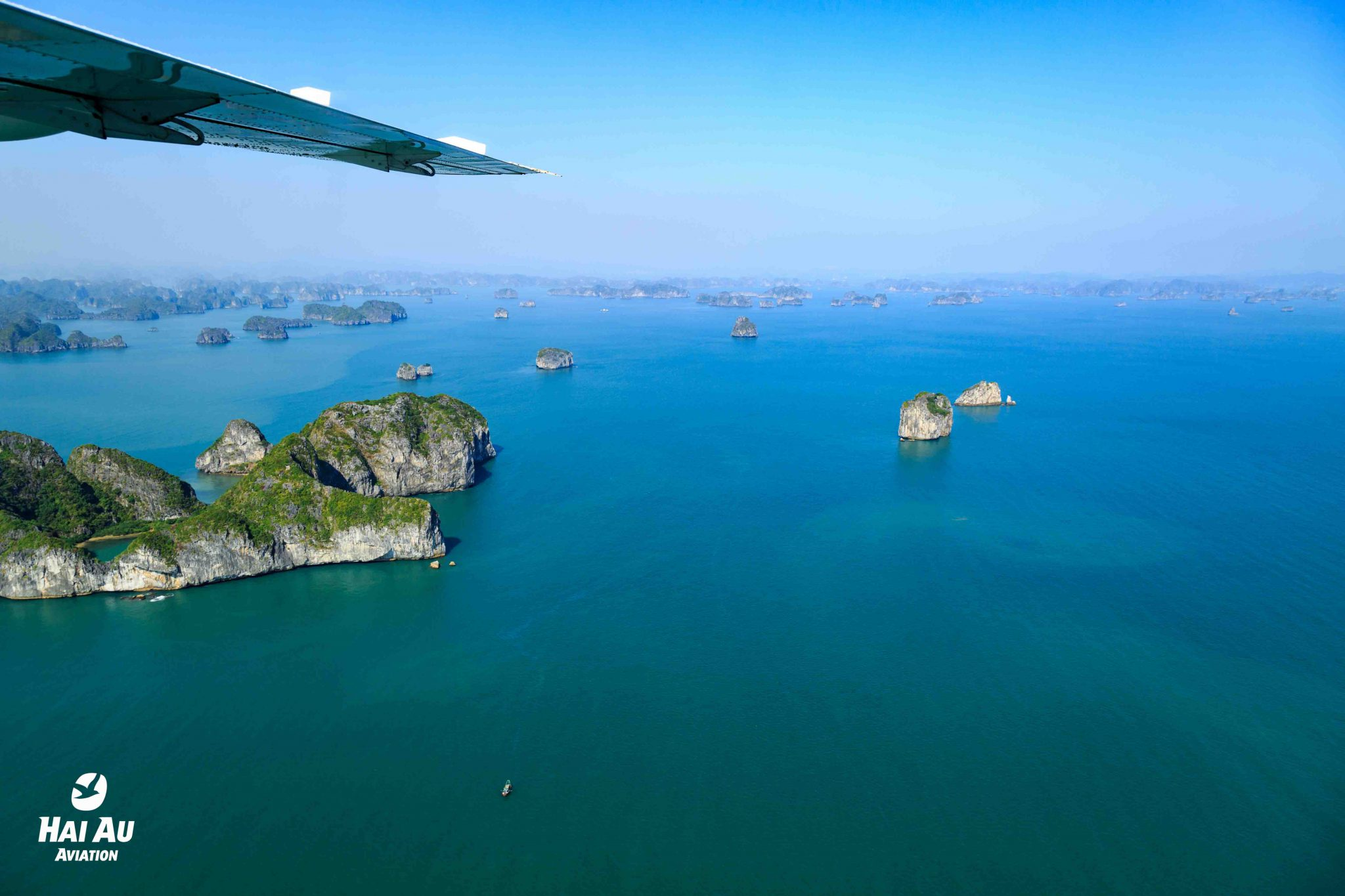 Halong Bay seaplane flight review Halong Bay