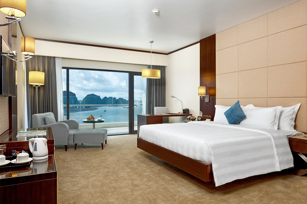 wyndham legend and seaplane flight Halong Bay weekend