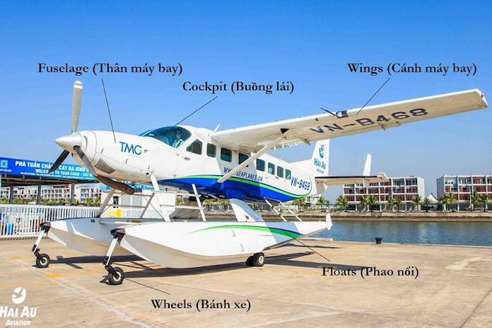 Hai Au Seaplane Model The Cessna Grand Caravan 208b Ex