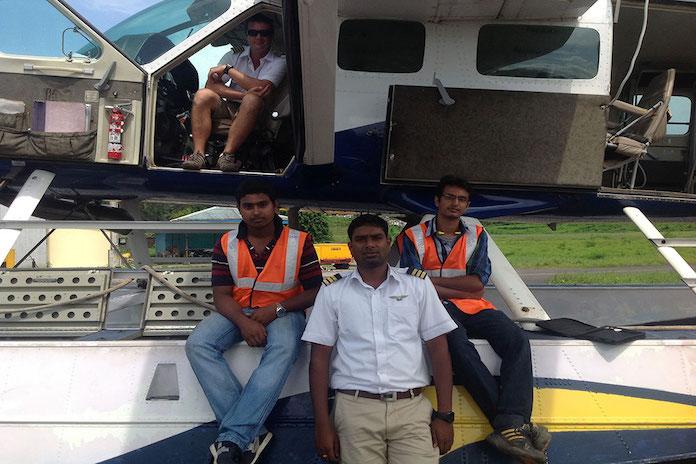 seaplane service in Asia