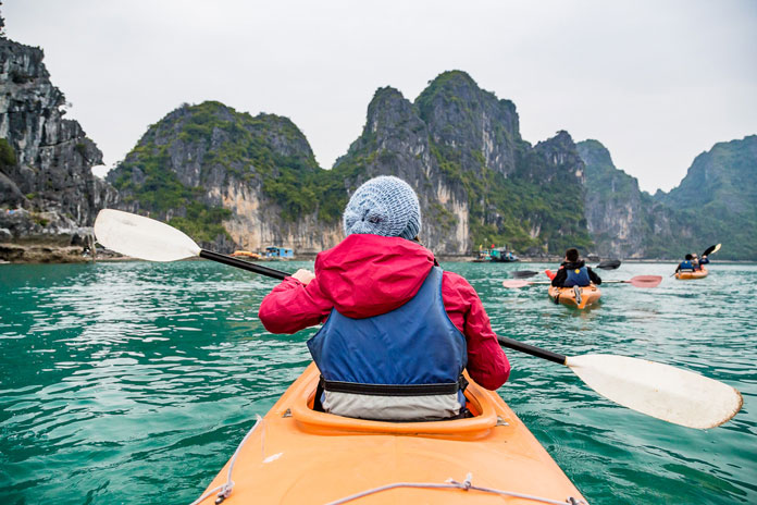 Tours from Hanoi to Halong Bay