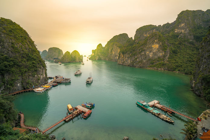 From Hanoi to Halong beauty