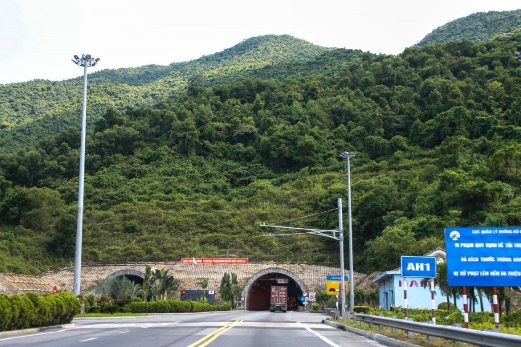 Entrance to Hai Van Tunnel - Image by James Pham-24