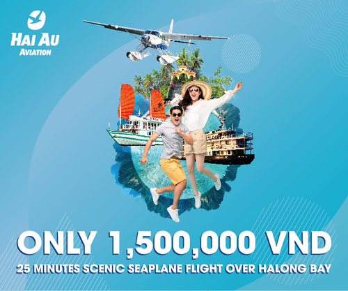 hanoi to halong bay by seaplane
