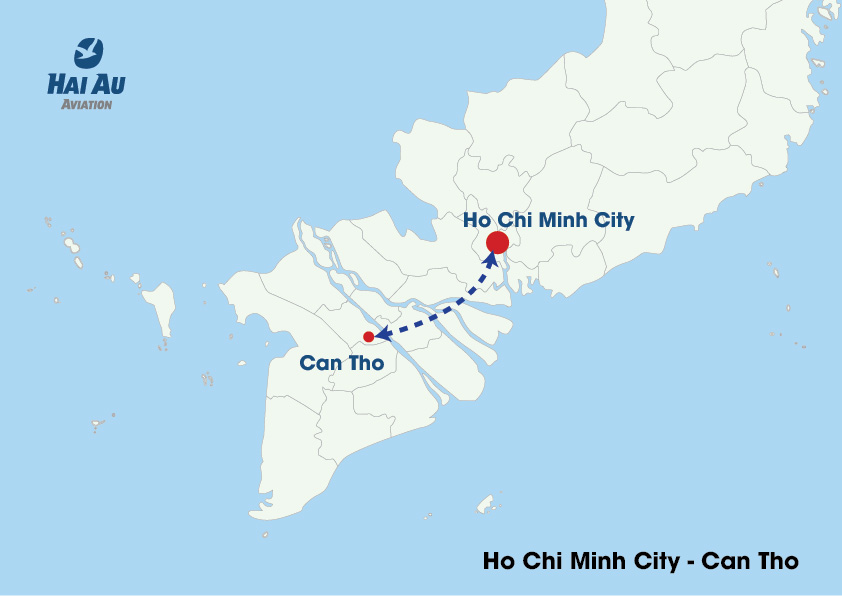 Hai Au Aviation Introduces New Flight Routes in Ho Chi Minh City