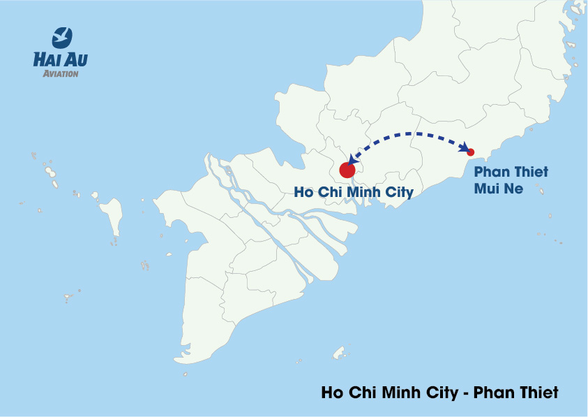 Hai Au Aviation Introduces New Flight Routes in Ho Chi Minh City 3