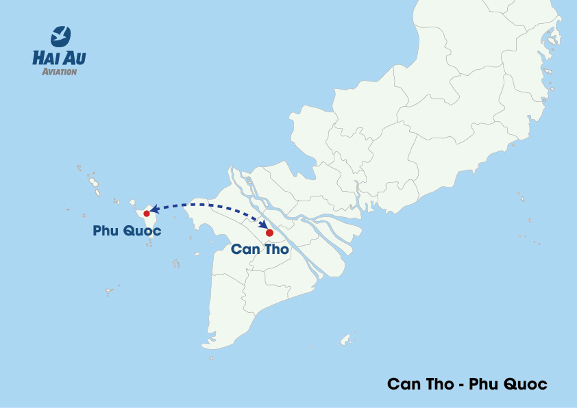 Hai Au Aviation Introduces New Flight Routes in Southern Vietnam