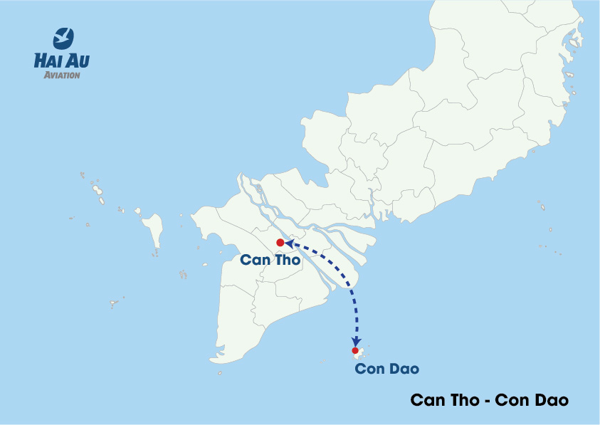 Hai Au Aviation Introduces New Flight Routes in Southern Vietnam2