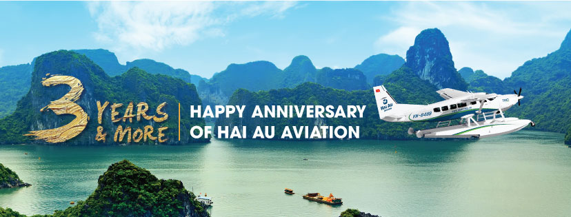 Hai Au Aviation Third Year Anniversary