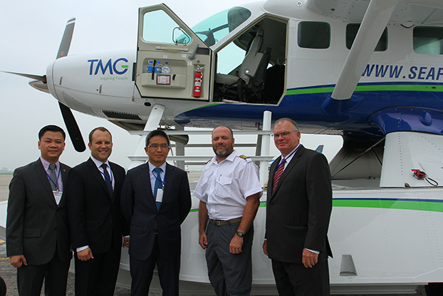 Hai Au Aviation Welcomes First Two Seaplanes to Vietnam2