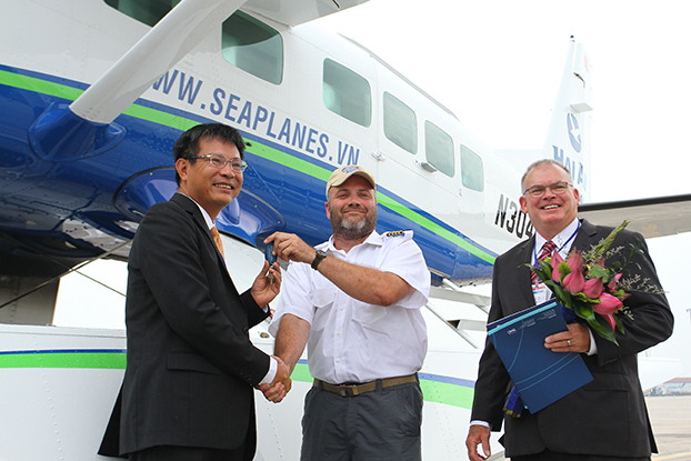 Hai Au Aviation Welcomes First Two Seaplanes to Vietnam3