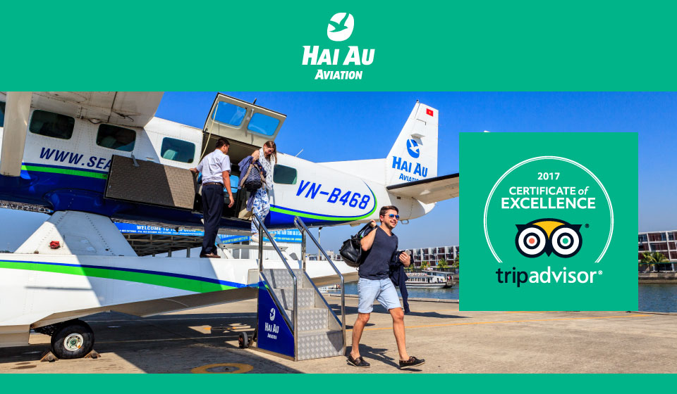 Hai Au Aviation Wins 2017 Certificate of Excellence From Tripadvisor
