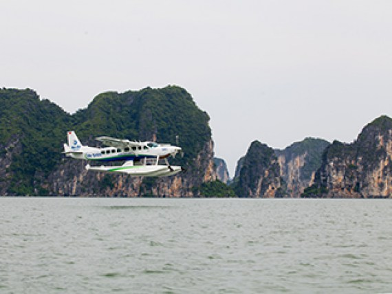 Hai Au Aviation Recieves the 3rd Seaplane