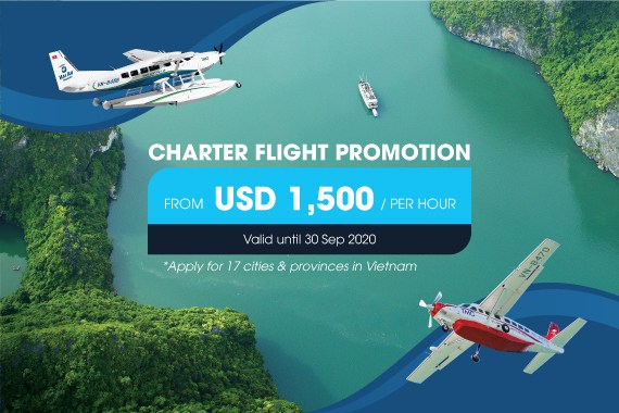 Charter flight Promotion