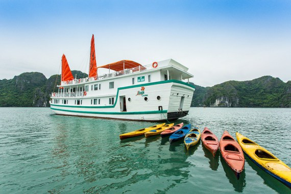 Halong Bay 2D1N: Scheduled Flight & L'Azalée Deluxe Cruise